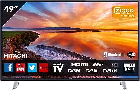 Hitachi 49HBT62A - TV: Amazon.es: Electrónica