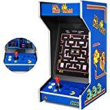 """Happybuy Tabletop Arcade Machine with 412 Classic Retro Games 19"""" LCD Screen Hi-Fi Audio Inside for Home Commercial Man Caves Bars and Game Rooms Bartop Arcade Cabinet Machine (Tabletop, 412in1)"""