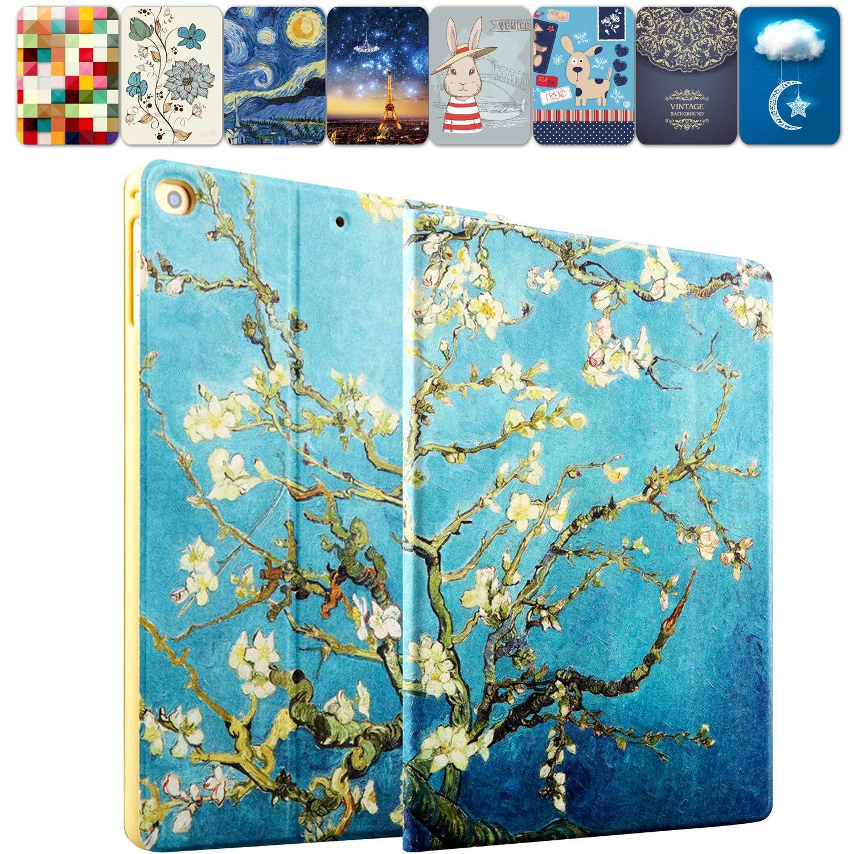 DuraSafe Cases for iPad 10.2 Inch - 2019 [ A2197 A2198 A2200 ] Printed Smart Cover Slim Folio, Auto Sleep/Wake - Blossom (B081QDWYTY) Amazon Price History, Amazon Price Tracker