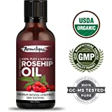Aromatique Rosehip Seed Oil Pure & Natural Cold pressed ,Therapeutic Grade Oil From Aromatique (30ml)