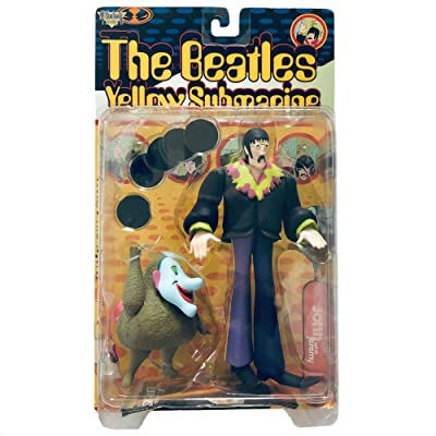 "Beatles The Yellow Submarine JOHN LENNON with Jeremy 8"" Action Figure (1999 McFarlane): Toys & Games"