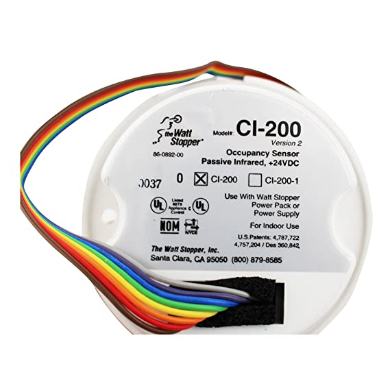 Amazon.com: Wattstopper The Watts Stopper CI-200 Occupancy Sensor Passive Infared New In A Box: Home Improvement