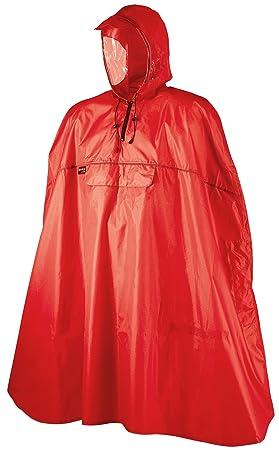 capture grand choix de authentique Camp RAIN CAPE PONCHO STOP BIKE PLUIE KEEWAY CAMPING ROUGE L ...