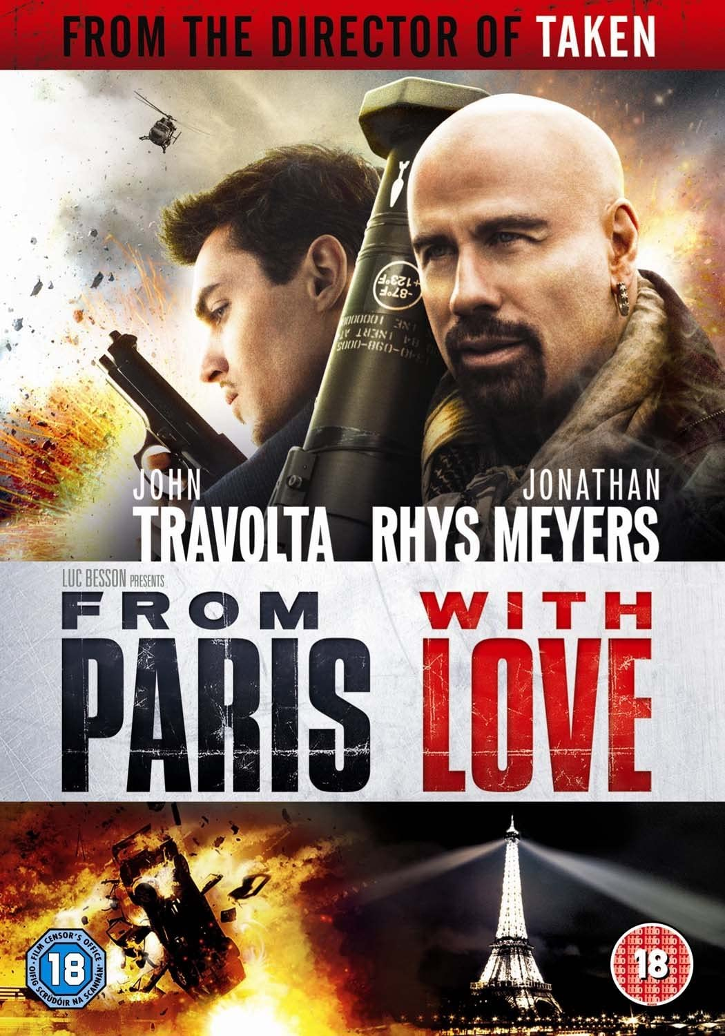 From Paris With Love [DVD] [2010]: Amazon.co.uk: John Travolta ...