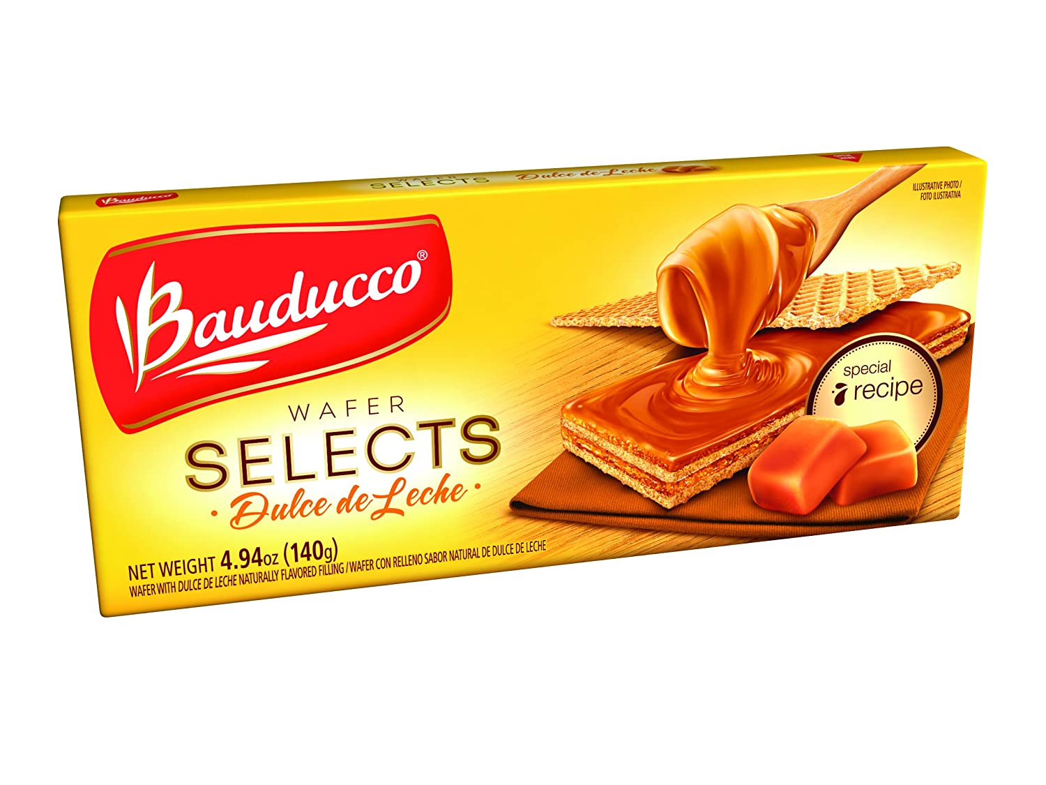 Amazon.com: Bauducco Wafer Selects, Dulce de Leche, 4.94 Ounce (Pack of 22)