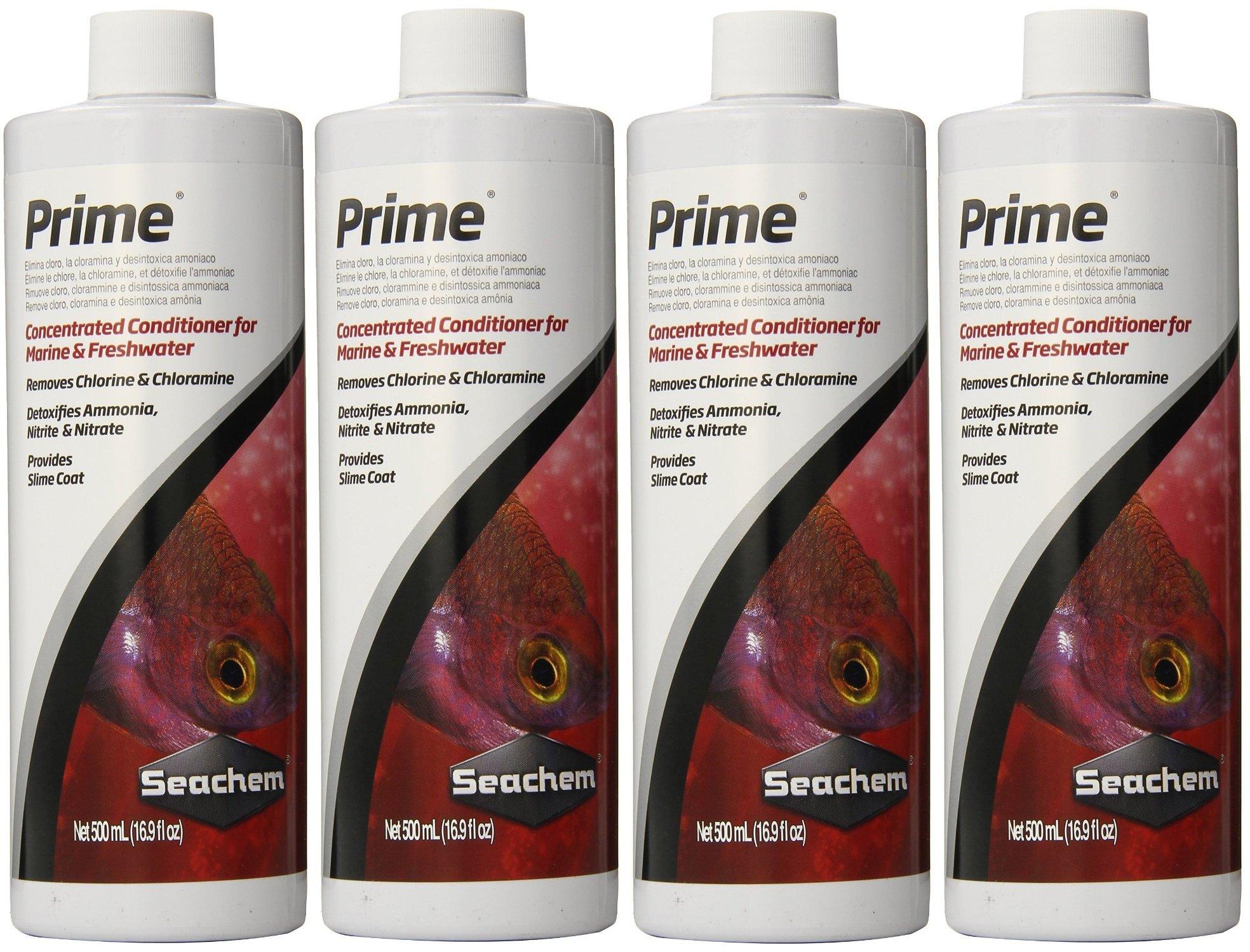 (4 Pack) Seachem Prime 500ml