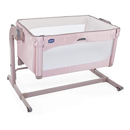 candy pink Chicco Next2Me Magic