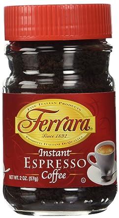 Amazon Com Ferrara Instant Espresso Coffee 2 Oz Instant