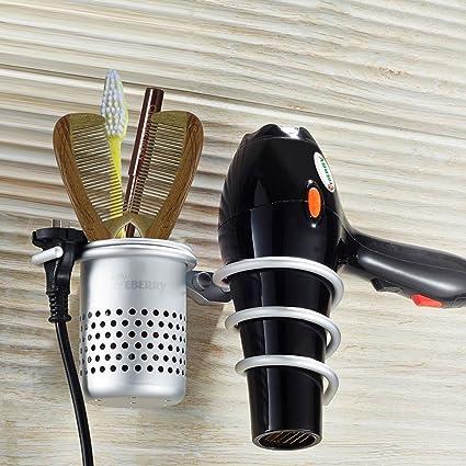 Beau Hair Dryer Holder,Hair Blow Dryer Holder,Hair Dryer Organizer Shelf Rack  Stand,