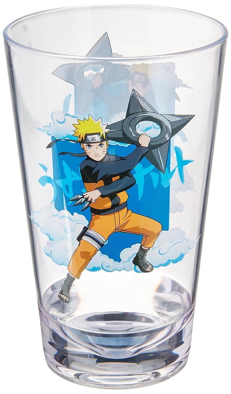 JUST FUNKY Naru-Acr-7456-Jfc Naruto Image Bottom Acrylic Cup B01M4GFUQ7