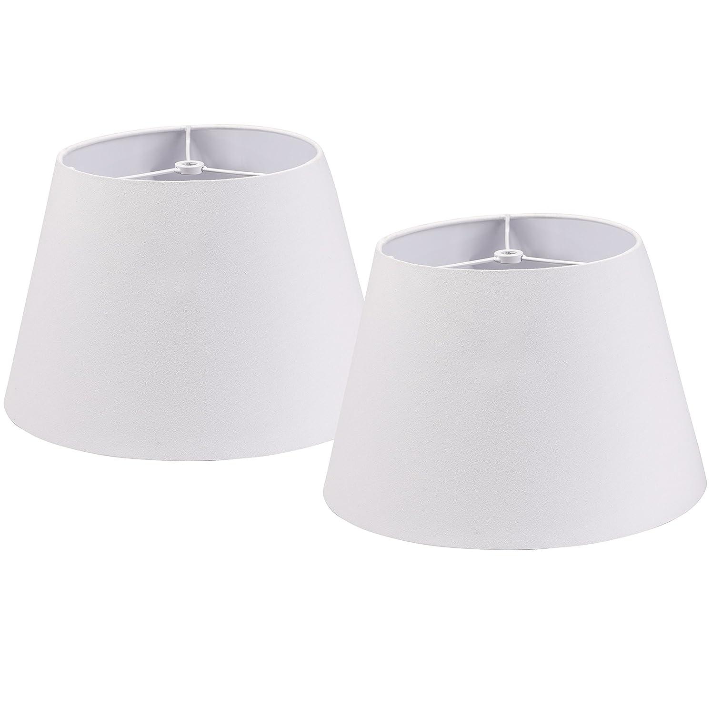 07f4de82243 Lamp Shade IMISI Desk Lamp Table Lamp Shade Linen Fabric White ...