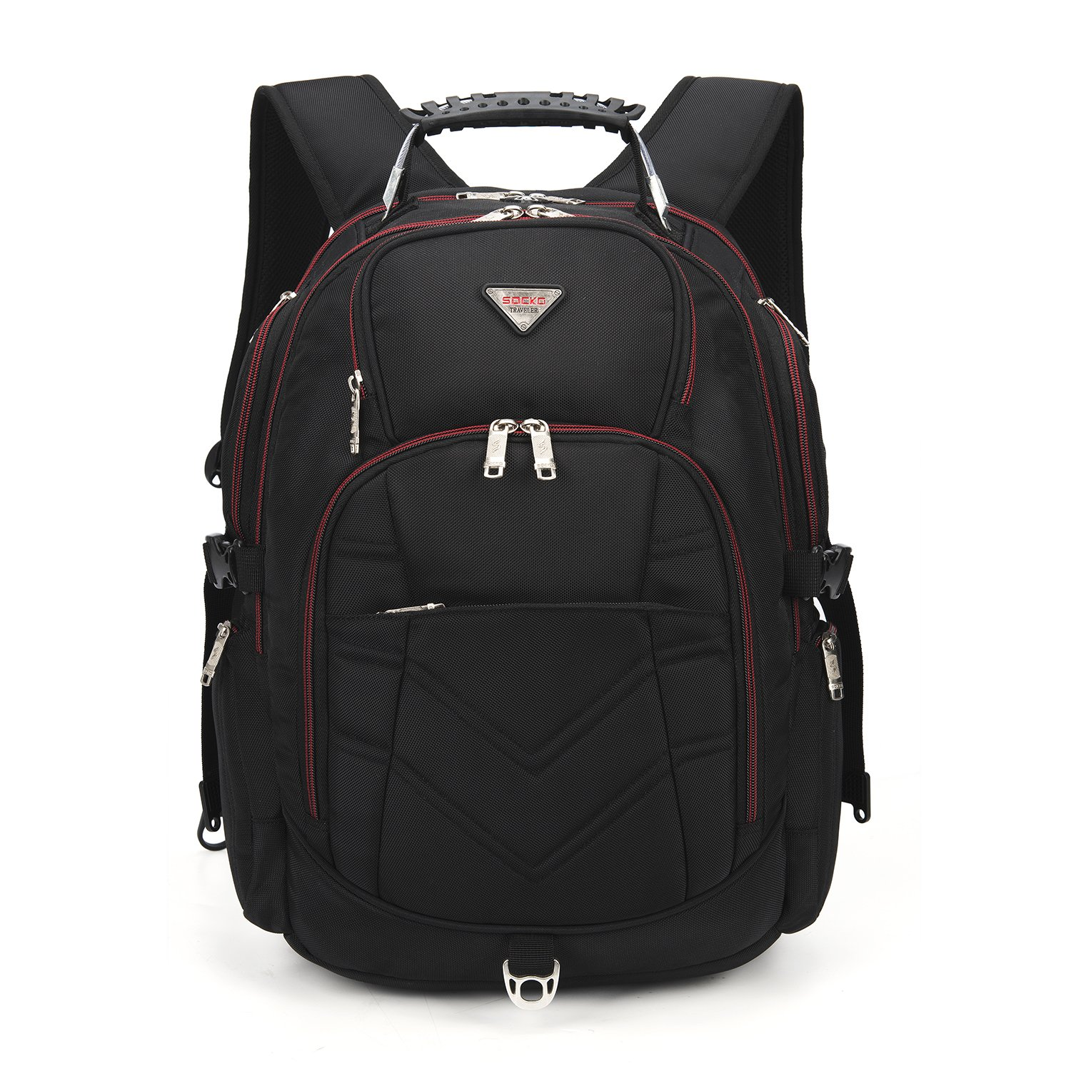 Large Capacity Travel Camping Backpack 17.3 Inch Waterproof Laptop Bag  Muti-Pockets Durable School College Bag Business Daypacks Men s Sports  Hiking ... 5e95740746eb2