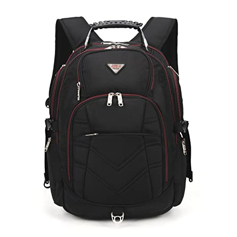 821b048d00 Large Capacity Travel Camping Backpack 17.3 Inch Waterproof Laptop Bag  Muti-Pockets Durable School College