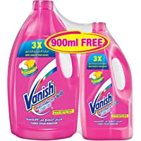 Vanish Stain Remover Liquid for Colors & Whites, 3L + 900ml