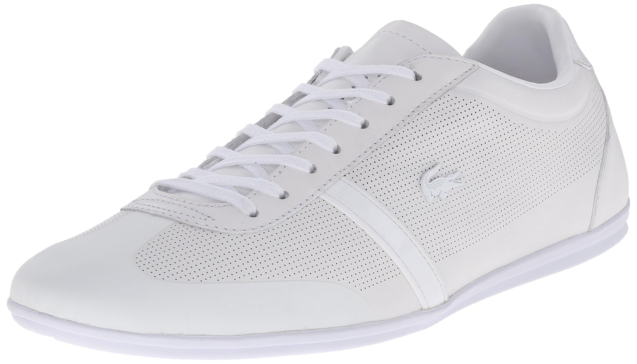 Lacoste Men's Mokara 116 1 Cam Fashion Sneaker Fashion Sneaker, White, 11.5 M US