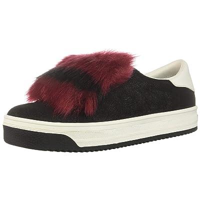 Marc Jacobs Women's Empire Multi Color Sole Sneaker with Faux Fur: Shoes