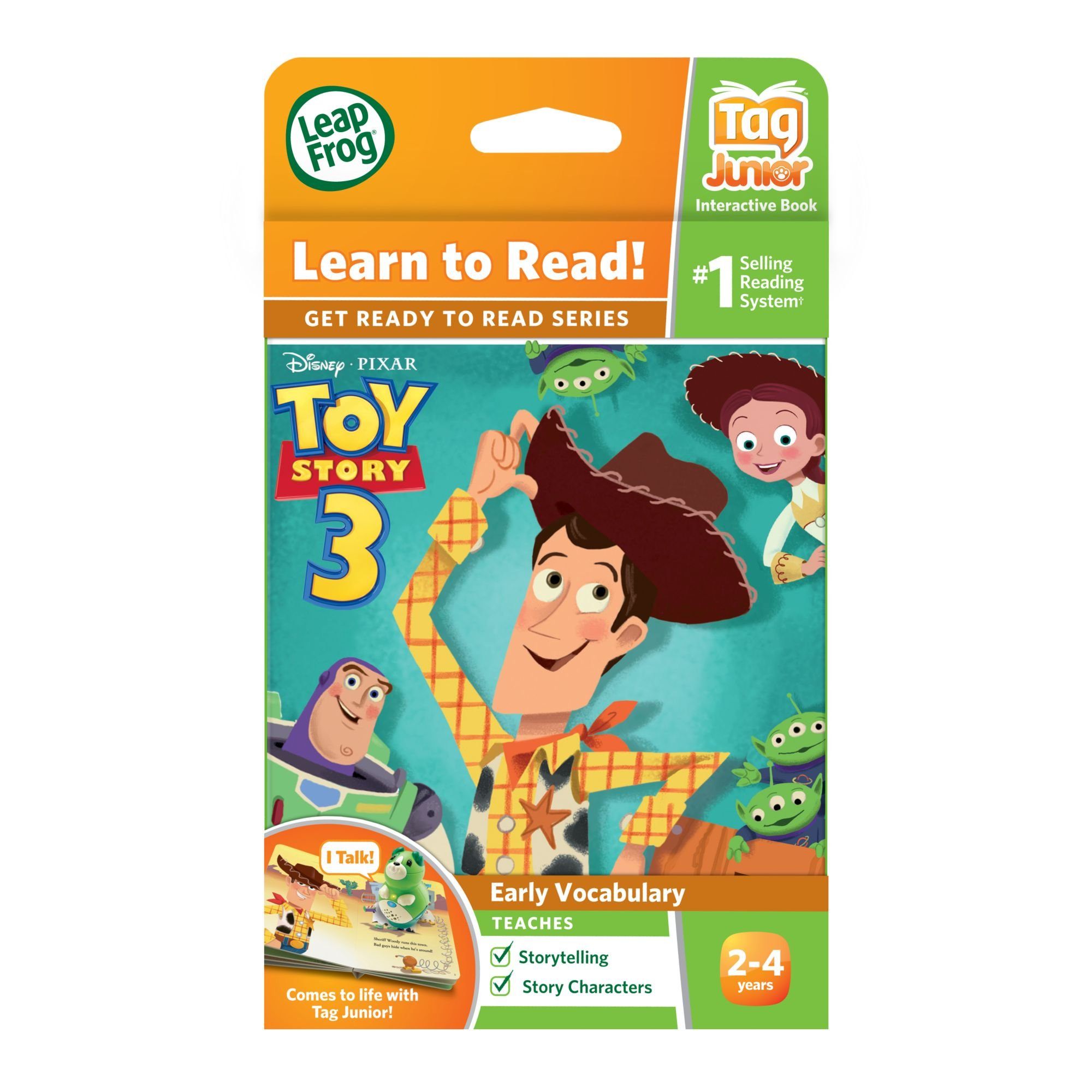 LeapFrog LeapReader Junior Book: DisneyPixar Toy Story 3: To Imagination and Beyond (works with Tag Junior) by LeapFrog (Image #4)