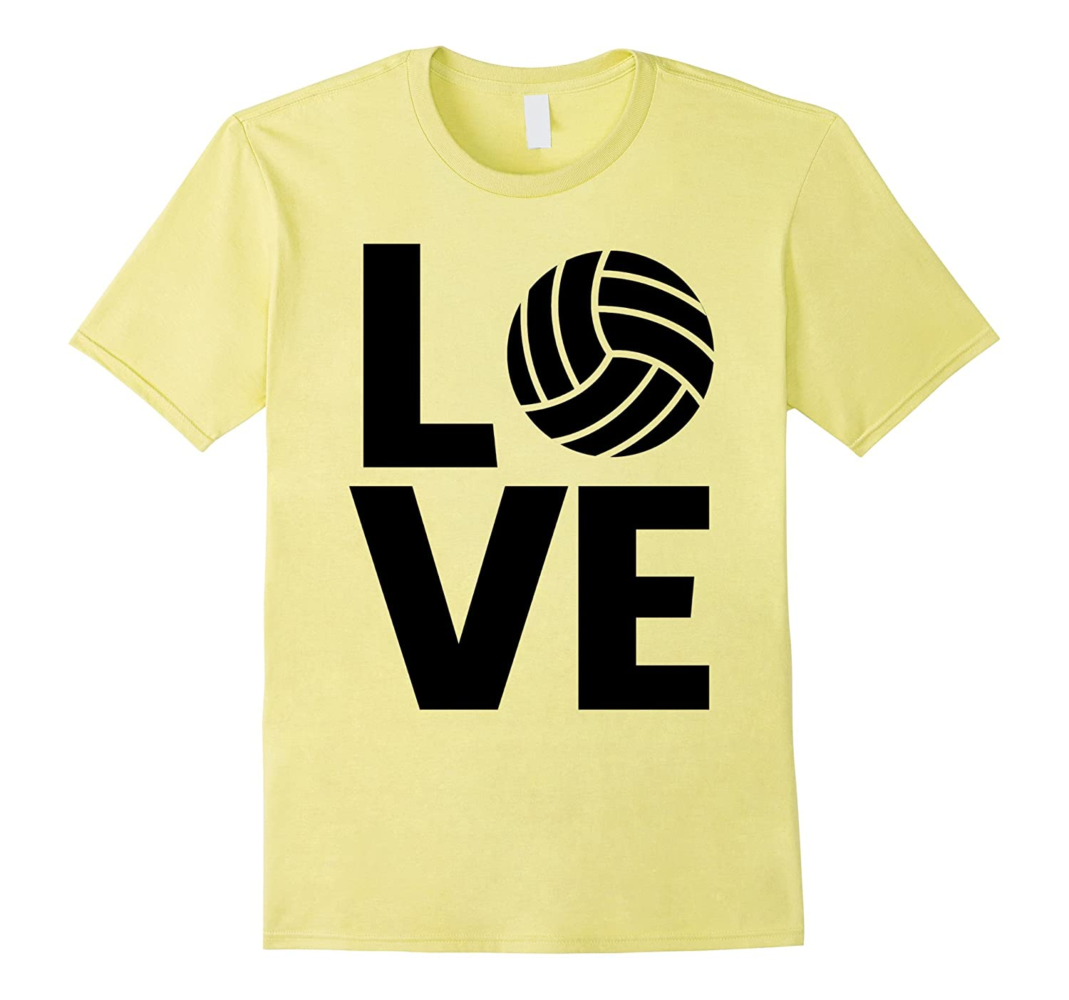 Awesome LOVE VOLLEYBALL tshirt gift practice jersey match-PL