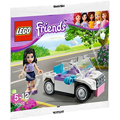LEGO Friends Set 30103 Emmas Car (Promotional Polybag 32 Pcs): Toys & Games