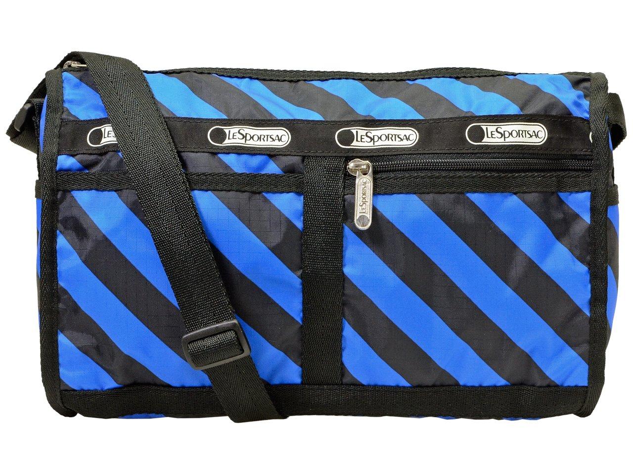 (レスポートサック) LeSportsac バッグ 斜めがけ ショルダーバッグ Deluxe Shoulder Satchel デラックス ショルダー サッチェル レディース ナイロン 7519 ブランド [並行輸入品] B06XY6VH5K ACE STRIPE/D556 ACE STRIPE/D556