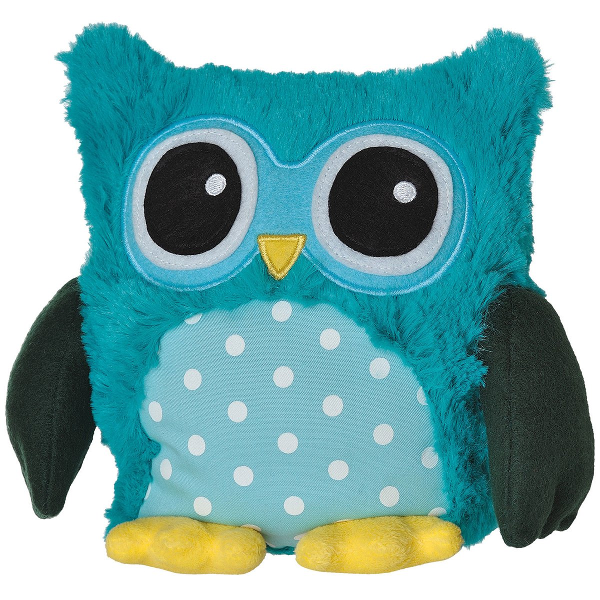 Warmies Pop Owl with Lavender Scent and Removable Filling Turquoise BabyCenter 2228291