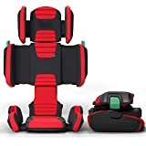 mifold hifold Fit-and-Fold Highback Booster Seat, – Adjustable Highback Booster Car Seat for Everyday, Carpooling and More –
