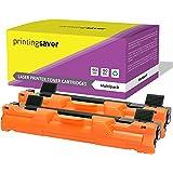 TN1050 Printing Saver pack de 2 tóners compatibles para BROTHER DCP-1510, DCP-1512, DCP-1610W, HL-1110, HL-1112, HL-1210W, MFC-1810, MFC-1910W impresoras