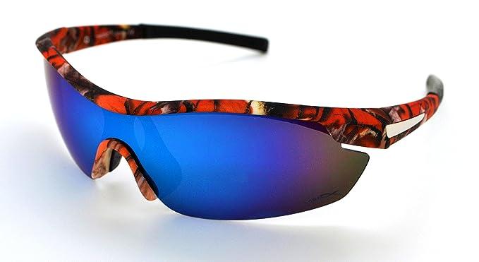 VertX - Occhiali da sole - Uomo Orange Camo - Orange Lens 8VGfdTLktI