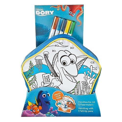 Undercover fdcw2421–Sac à main à peindre Disney Pixar findet Dorie avec 5Fibre Peintres