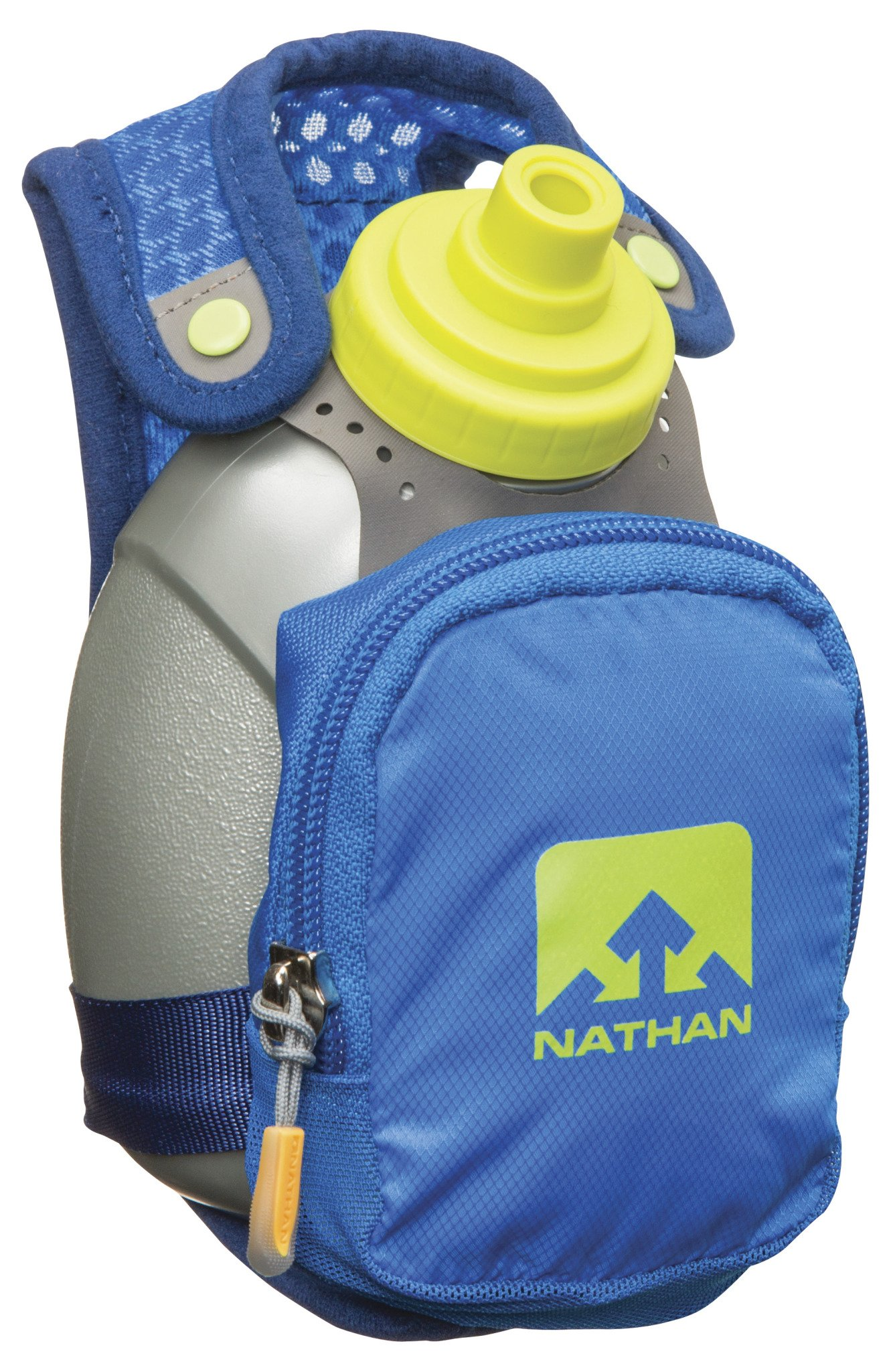 Nathan Quick Shot Plus Handheld Hydration Pack, Blue by Nathan