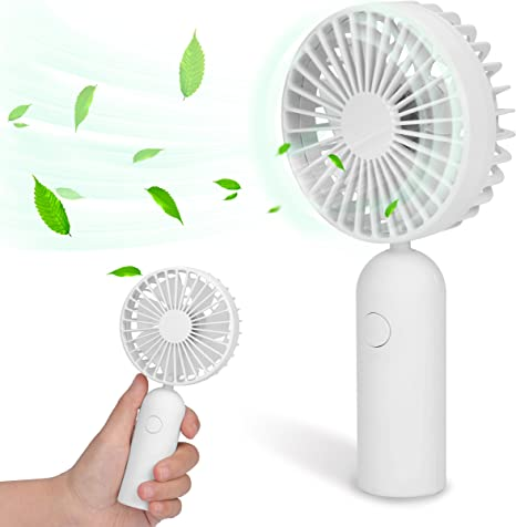 Portable Mini Handheld Battery Powered Travel Outdoor Cooling Fan Cooler Gift