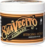 SUAVECITO Pomade Firme Strong Hold, 4 Ounce
