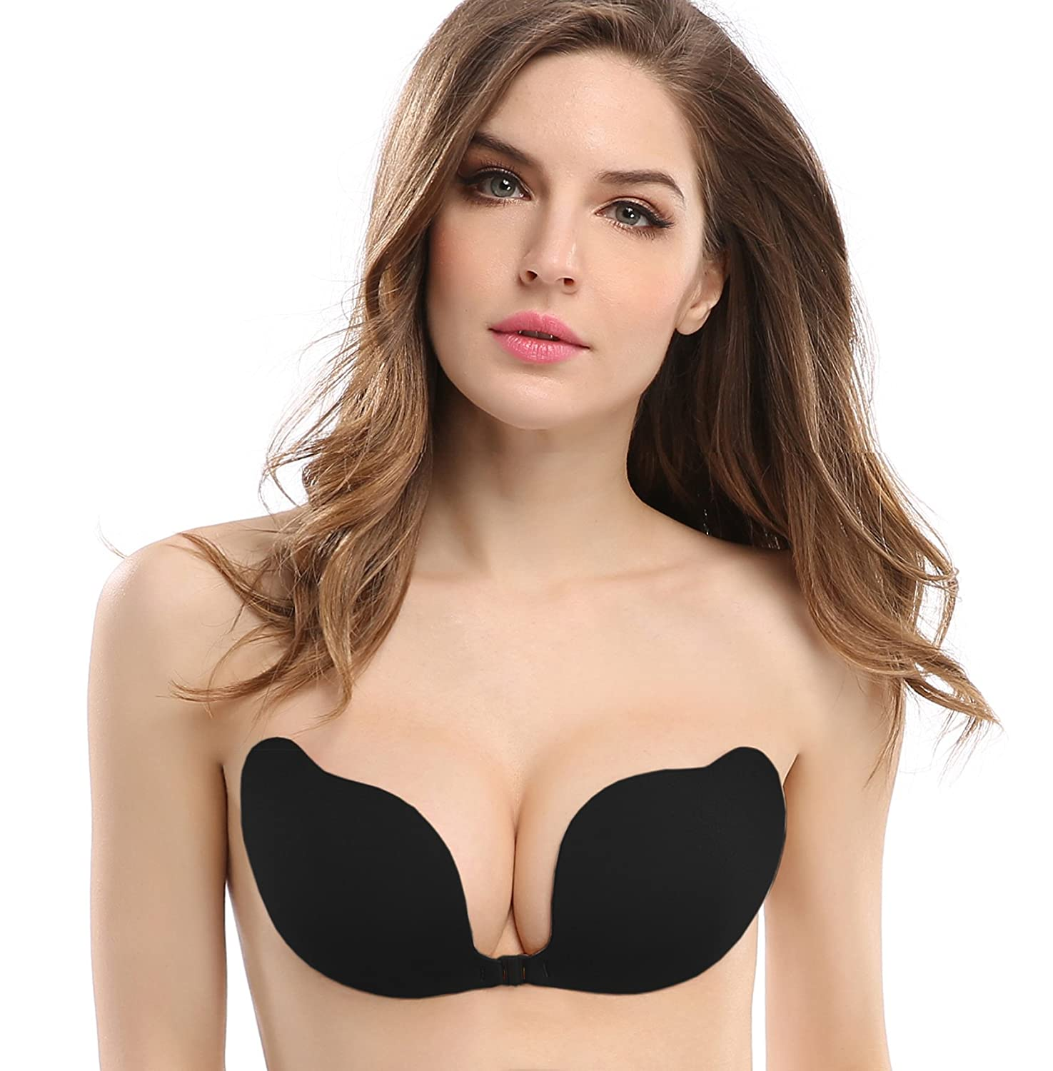 a5379b3ca ... and extremely supportive stick-on invisible bra with comfortable soft  fabric