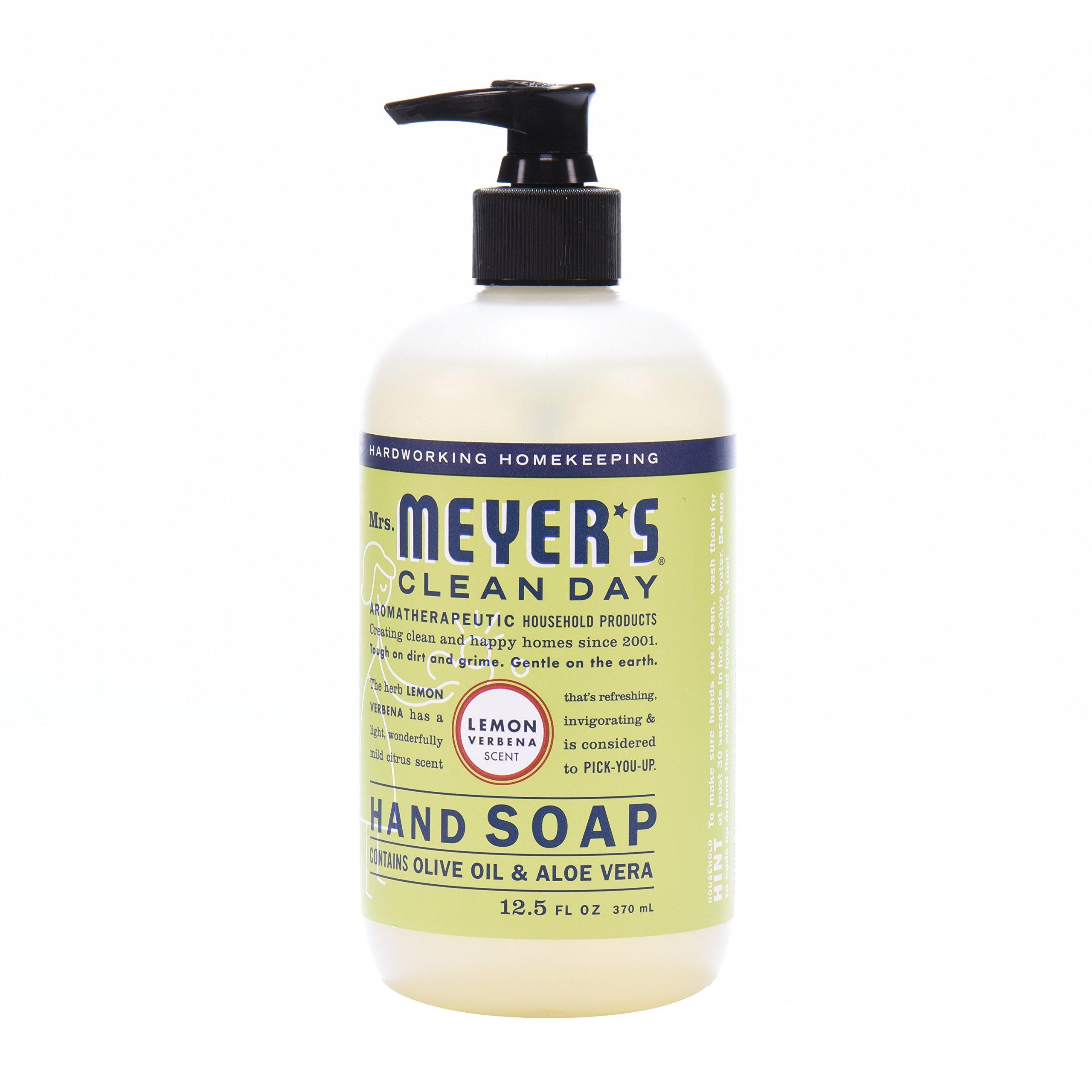Mrs. Meyer's Clean Day Kitchen Basics Set, Lemon Verbena, 3 ct: Dish Soap (16 fl oz), Hand Soap (12.5 fl oz), Multi-Surface Everyday Cleaner (16 fl oz) by Mrs. Meyer's Clean Day (Image #8)