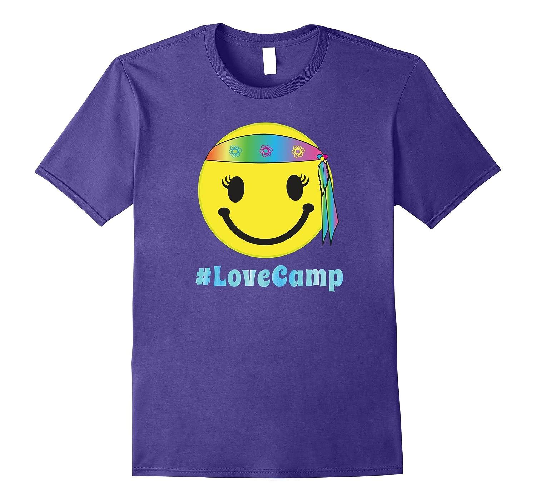 Youth Summer Camp TShirt Hippie Funny Nerd Girls Boys Emoji-TH