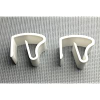 KLEMMFLEX klemdrager Jalou-klick voor aluminium jaloezieën met 25x25mm bovenrail - kleur: wit