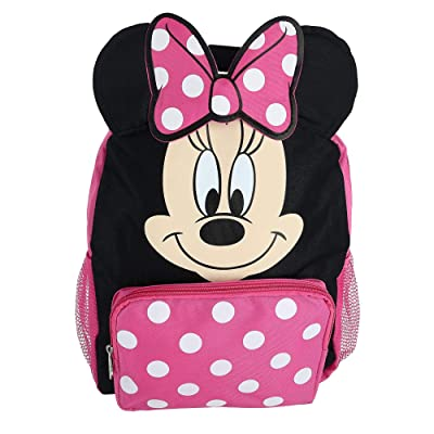 "Minnie Mouse Big Face 12"" School Bag Backpack 