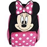 Disney Girl's 12-inch Minnie Mouse Big Face Backpack