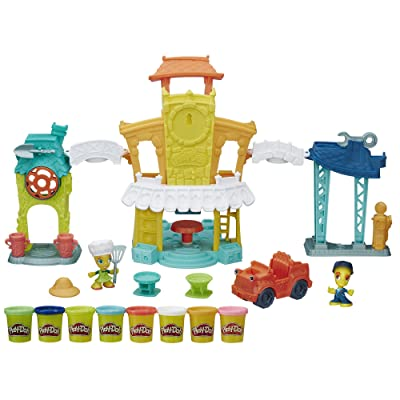 Play-Doh Town 3-in-1 Town Center: Hasbro: Toys & Games [5Bkhe0504486]