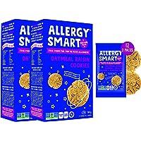 Allergy Smart Crunchy OATMEAL RAISIN Vegan Cookies   Gluten Free, Nut Free, Egg Free, Soy Free, Dairy Free, Non GMO…