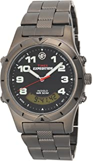 Timex Mens T41101 Expedition Metal Field Analog-Digital Sandblasted Bracelet Watch
