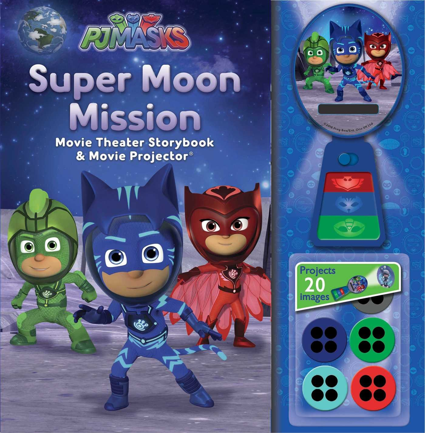 Pj Masks: Super Moon Mission Movie Theater & Storybook: Amazon.es: Pj Masks: Libros en idiomas extranjeros