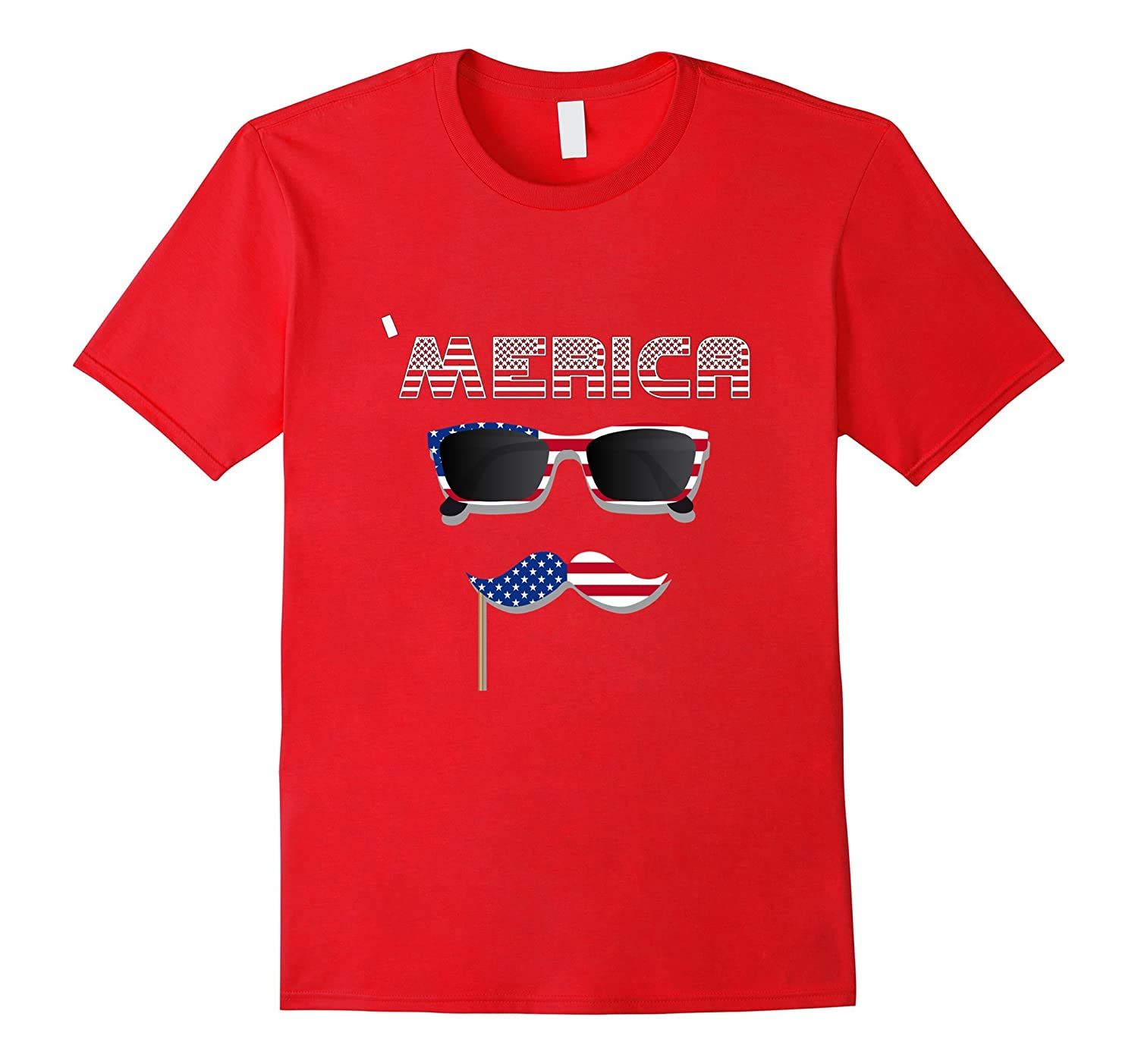 'Merica Graphic Shirt - Novelty 4th Of July T-Shirt-TH