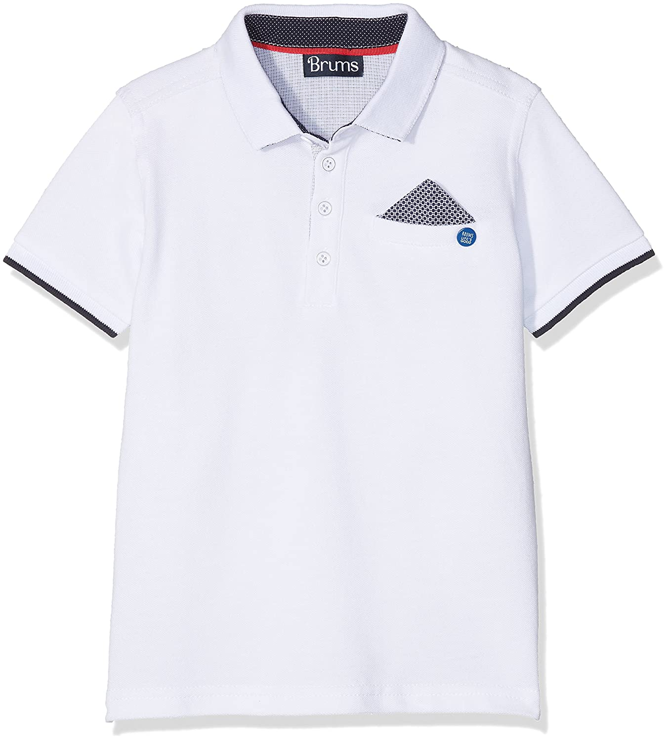 Brums 181BFFN018, Polo Para Bebés, Blanco (Optical White 01 001 ...