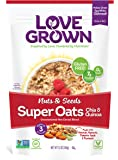 Love Grown Super Oats, Nuts and Seeds, 12 Ounce (Pack of 6)