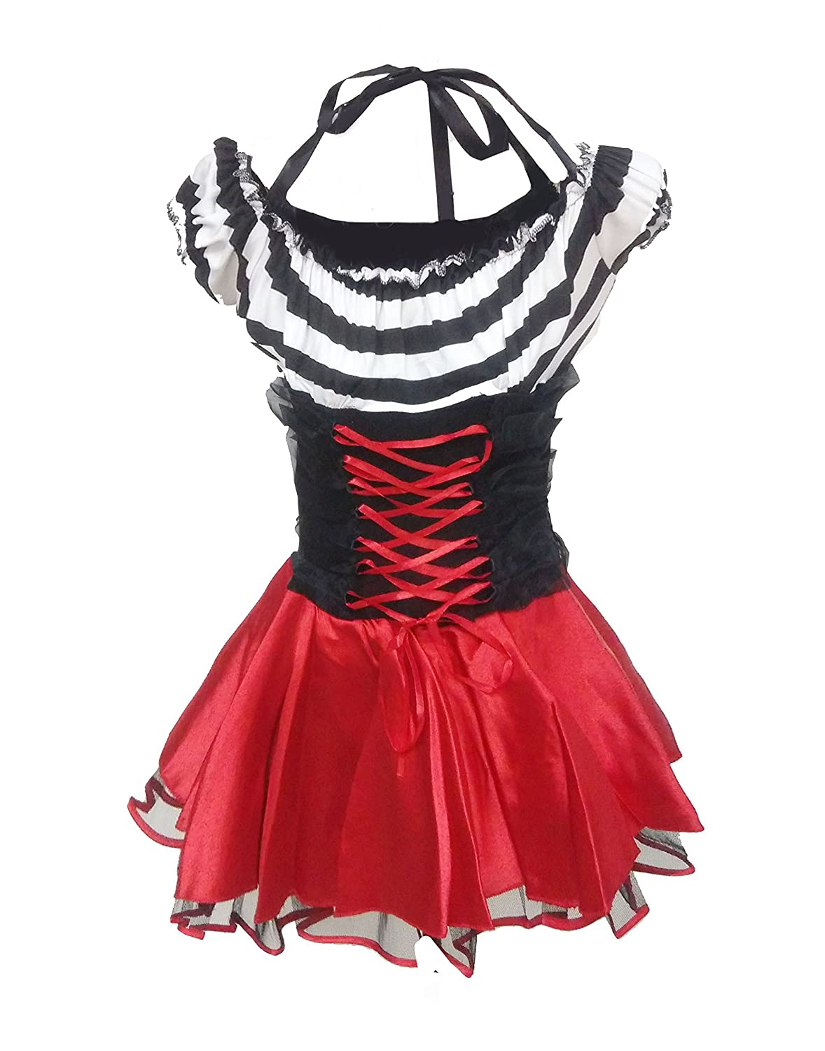 Bslingerie Women Prison Break Pirate Fancy Halloween Costume Dress Amazon In Clothing Accessories