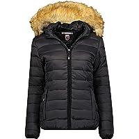 Geographical Norway Clara Lady – Abrigo corto cálido acolchado para mujer – Abrigo cálido invierno para mujer – Chaqueta…