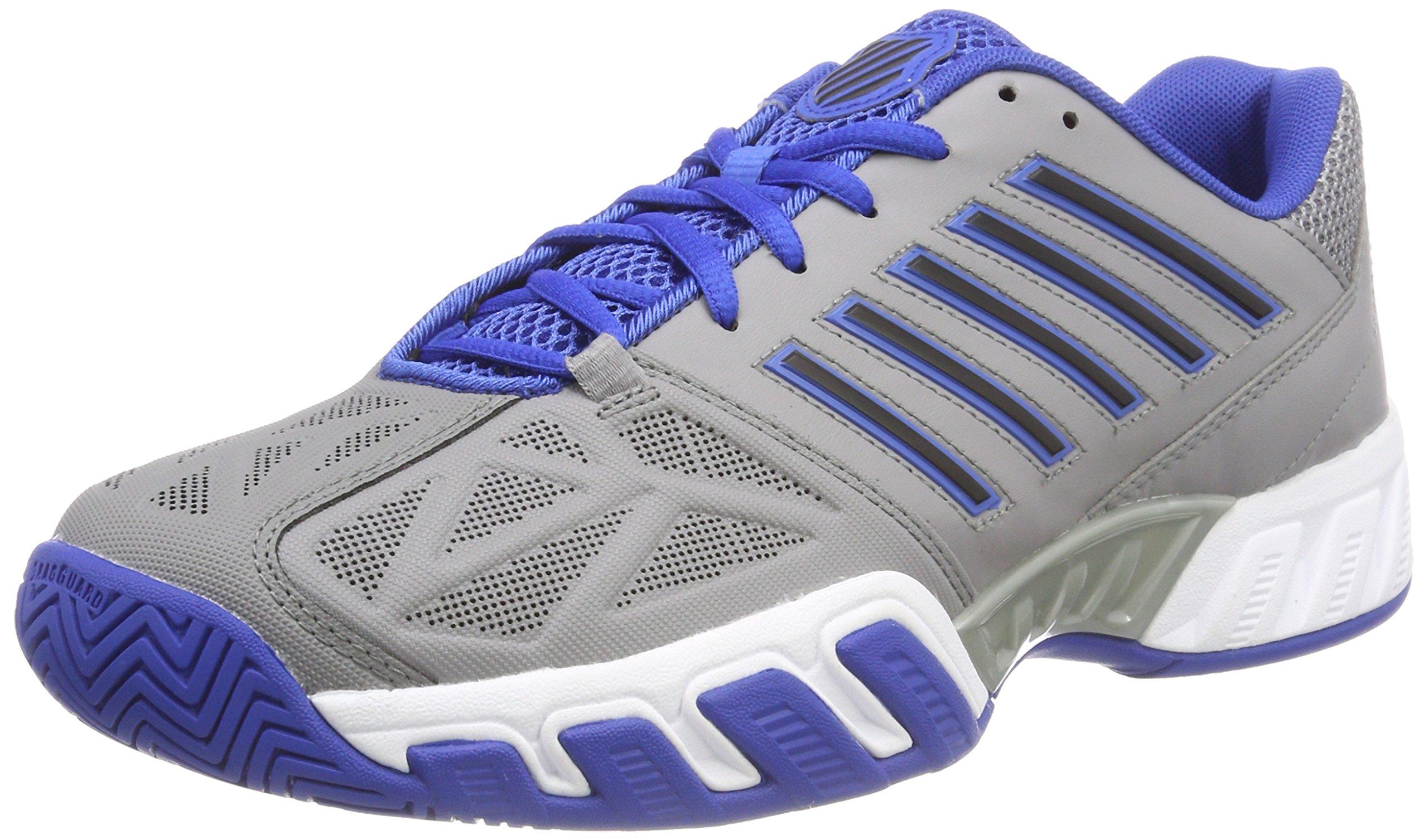 K-Swiss Bigshot Light 3 Tennis Shoe - Grey/Blue - Mens - 10