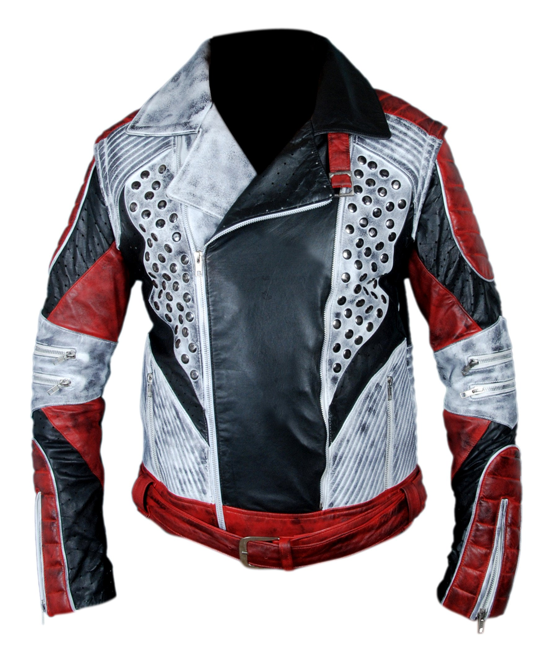 F&H Boy's Carlos Cameron Boyce Descendants 2 Jacket with Removable Arms S Multi by Flesh & Hide