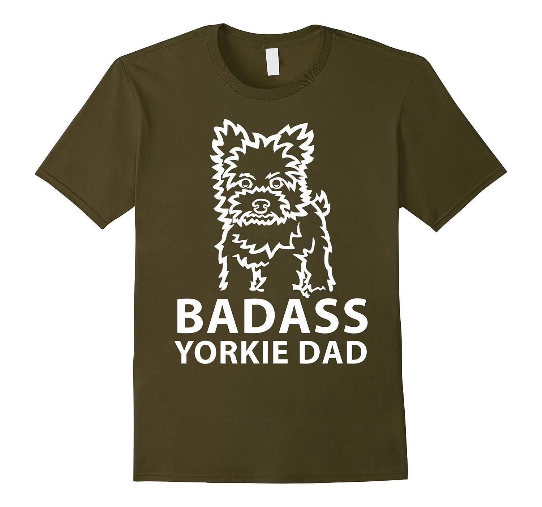 Yorkie Dad T Shirt Cool Yorkie T Shirt Love Yorkie T Shirt